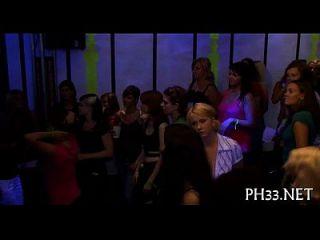 A Lot Of Gangbang On The Dance Floor