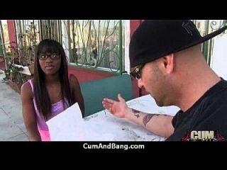 Ebony Slut In An Amazing Gangbang 3