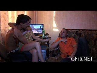 Boy Bangs Her As Hard As Nobody