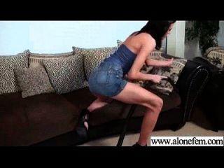 Solo Freak Girl Use Things To Masturbate Video-06