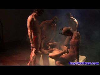 Cum Covered Christopher Daniels At Orgy