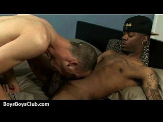 Blacks On Boys - Interracial Hardcore Gay Movie 23