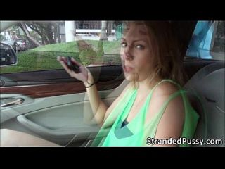 Super Sexy Jenna Marie Goes Pussy Banged Hard In The Backseat