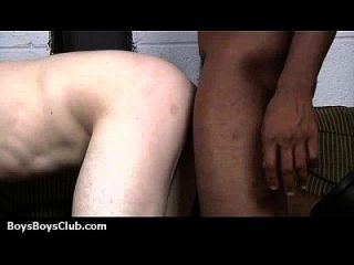 Blacks On Boys - Interracial Hardcore Gay Movie 14
