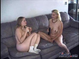 Sissy Is A Horny Lesbian
