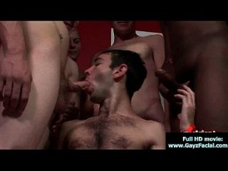 Bukkake Boys - Gay Guys Get Covered In Loads Of Hot Cum 18