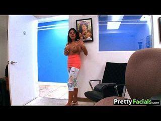 Stripper Girl Does Porn Facial Candi Cox 1 1.1