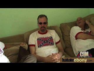 Interracial Gangbang With White Dicks 1