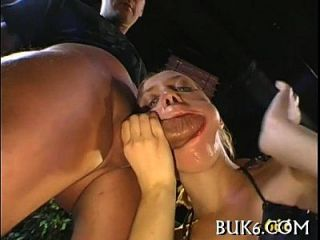 Group Pissing On Lusty Angel