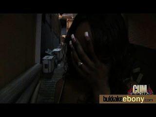 Hot Ebony Chick Love Gangbang Interracial 24