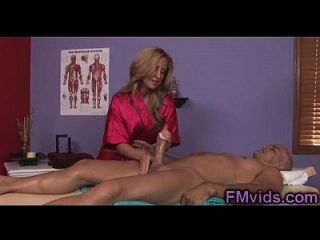 Gorgeous Busty Milf Gives Awesome Massage