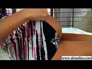 Solo Horny Amateur Girl Get Dildo Toys In Holes Video-11