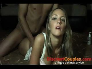Filming Her Boyfriend Takes Her Up The Ass