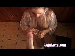 Condom sucking with Condom Blowjob: