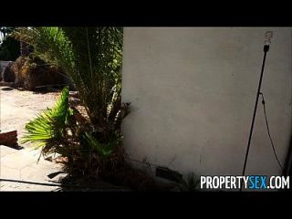 Property Sex - Desperate Real Estate Agents Fucks On Camera To Sell House