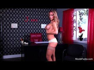 Nicole Aniston Rubs Her Wet Pussy