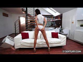 Paula Shy Rubbing Her Pussy