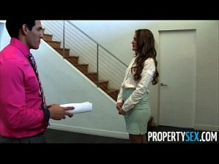 Propertysex - Abby Cross Is A Dirty Real Estate Agent Fucking Client