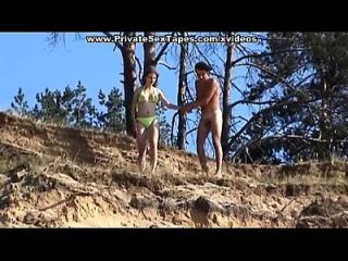 Kiler Hot Nude Couple Fucking On The Desolate River Bank