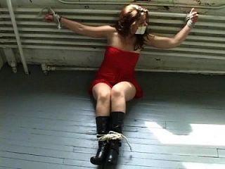 Audra Red Dress Bound
