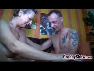 Granny With Glasses Wants To Be Fucked