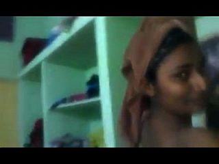 Swathi Naidu Showing Her Private Dress Change Room
