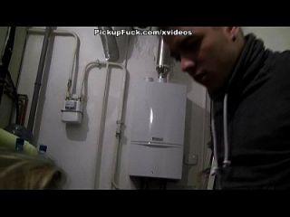Blonde Cutie Stars In Public Fuck Video For Cash Scene 2