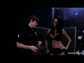 Lily Cade The Cop Bangs Dava Foxx