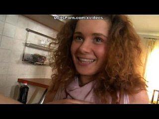 Porn Doll Kitchen Sex Video Scene 1