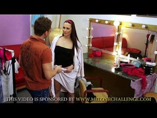Mea Melone Drilled Hard With Huge Creampie