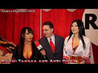 Hitomi Tanaka With Anri Okita: Blowjob Lesson For Andrea Diprè