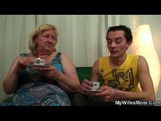 Huge Old Mother Boy Fucking Action