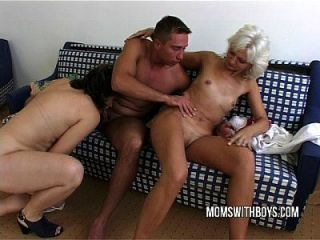 Hot Mature Ladies Hardcore Anal With Young Stud