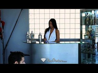 Hd Puremature - Exotic Anissa Kate Serves Drinks From Her Pussy