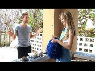 Slutty Cheerleader Gets Knocked Up!