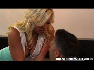 Brazzers - Dirty Blonde Milf Gets Some Office Dick