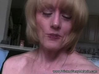 Slut Stepmom Swallows Cum