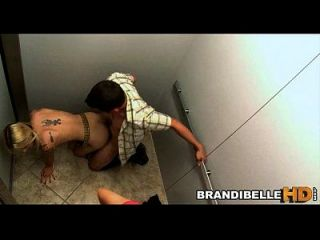 Brandi Belle Stuck In Elevator As Couples Fuck