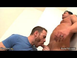 Tattooed Married Guy Fucking A Gay