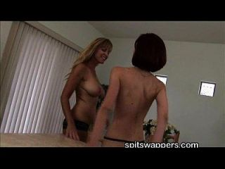 Nicole Moore Kyra Steele Spitswappers