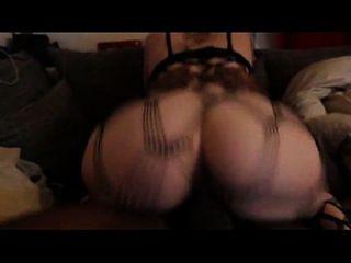 Bubble Butt Blonde Rides Bbc