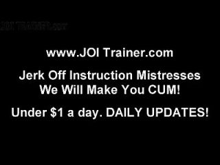 Follow My Instructions And Stroke Your Cock Joi
