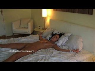 Veronica Carso Tied On Bed