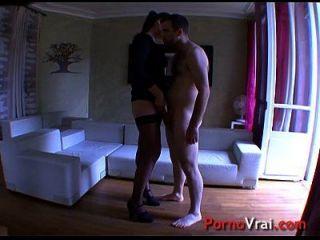 Mature Fucking A Stranger Like A Slut!!! French Amateur