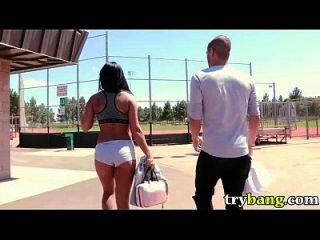 Gianna Nicole Plays Ball At The Park In Public Bang Hd Porn