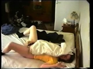 My Kinky Mom Caught Masturbating On Bed By Hidden Cam