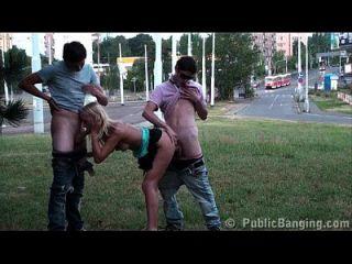 Extreme Public Sex Gangbang Teen Orgy