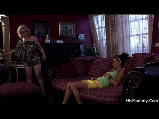Mature And Teen Lesbian Orgy Revealed!