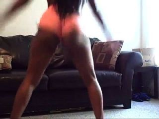 Big Booty Black Chick Twerking
