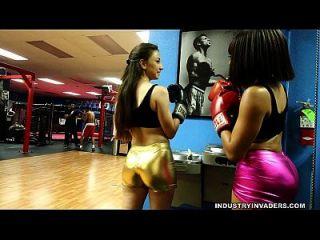 Alexis Rodriguez And Jayla Foxx Tmt Big Booty